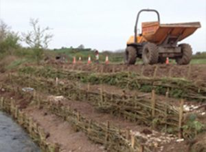 river bank stabilisation
